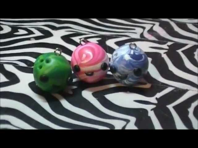 Polymer Clay Tutorial- Bowling Ball