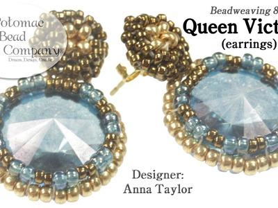 Queen Victoria Earrings