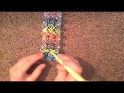 Rainbow Loom Double XX Bracelet