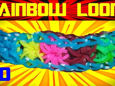 Rainbow Loom Nederlands | Loom Bands | Tutorial, how to, dutch, loom bands HD DIY