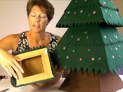 Sew a Felt Christmas Tree | The felt cover | Pt 2