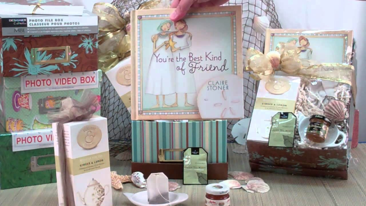 The Best Kind of Friend Tea Gift Basket