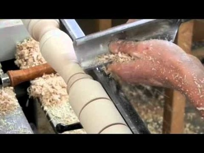 Turning a Windsor Chair Leg by Doucette and Wolfe Furniture Makers