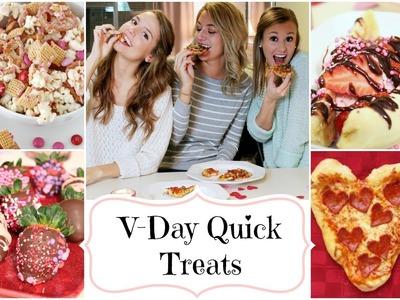 V♥Day Quick & Easy Treats!