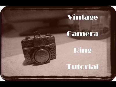 Vintage Camera Ring Tutorial