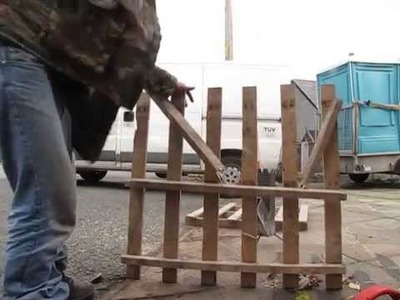 World Record for Breaking a Wooden Pallet! 11 Seconds!