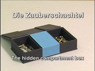 Zauberschachtel. Hidden Compartment Box