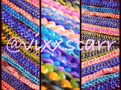 A Beginners Guide to #MishMashMutants Bracelets MASHUP (Rainbow Loom Hook Only)