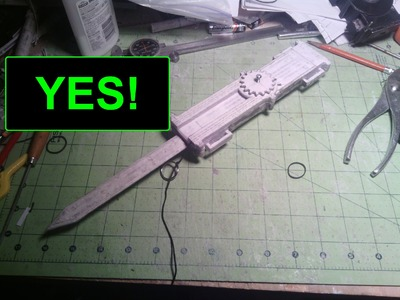 (Assassin's Creed) Paper Full size Dual-Action Hidden Blade (YES! STRING WORKS!) Update 20