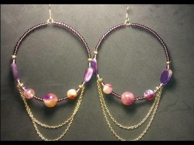 Basketball Wives Inspired Hoop Earrings