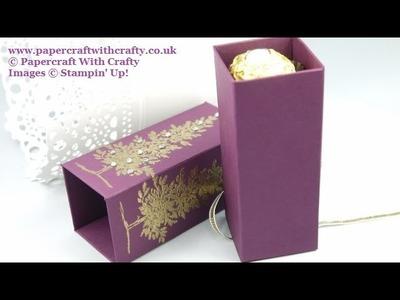 Christmas Tree Chocolate Treat Box