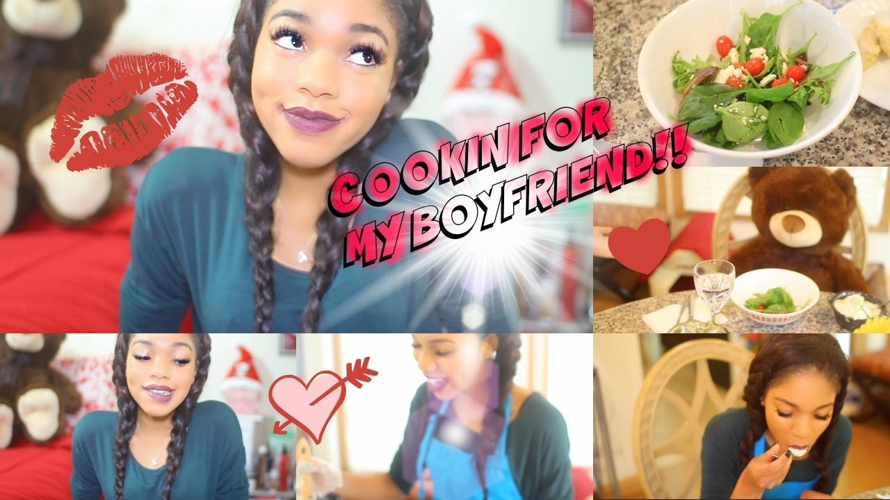 COOKING FOR MY BOYFRIEND!?!?!?