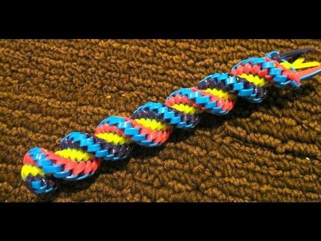 Corkscrew (supertwist) Stitch - Doing the Stitch