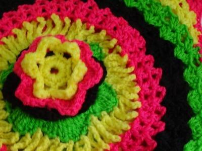 Crochet Bolero part 1 -B