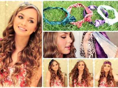 DIY American Apparel Style Wire Headbands & Ways to Wear Them! - Jackie Wyers