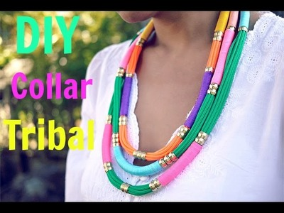 DIY collar tribal