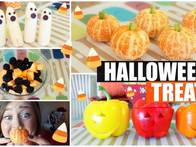 DIY Healthy Halloween Treats!