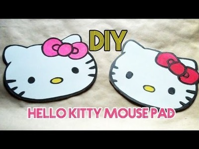 DIY Hello Kitty Mouse Pad