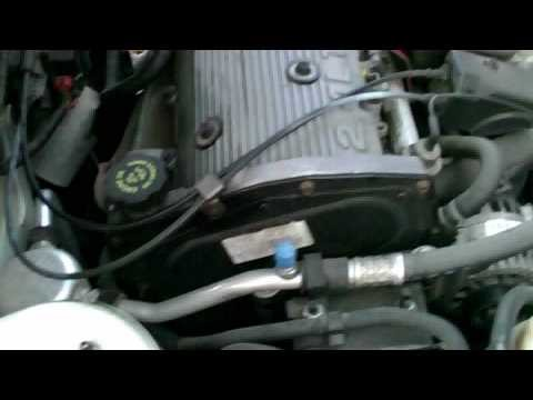 GM 2.2L WATER PUMP REPLACEMENT