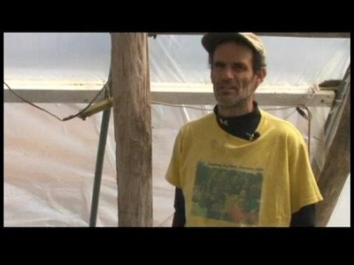 How to Build Hoop Houses : Plastic Hoop House Skins