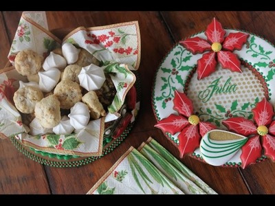 How to Make 3-D Christmas Cookie Boxes (Part 1 - The Bottoms)
