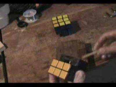 How to Make a Siamese Rubik's Cube