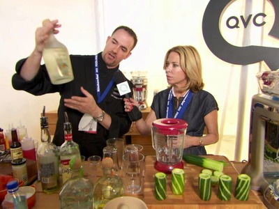 How to Make a Summer Drink with Patron