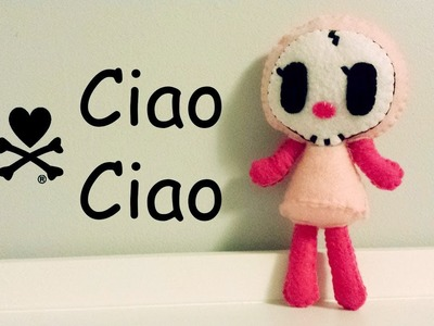 How to Make a tokidoki Ciao Ciao plushie tutorial