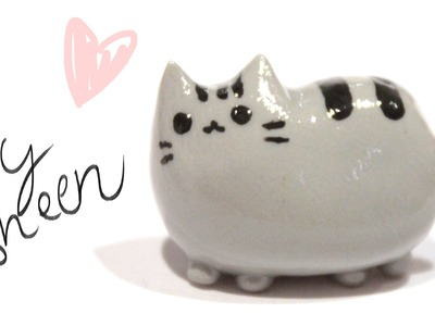 How to make Pusheen Cat in Clay