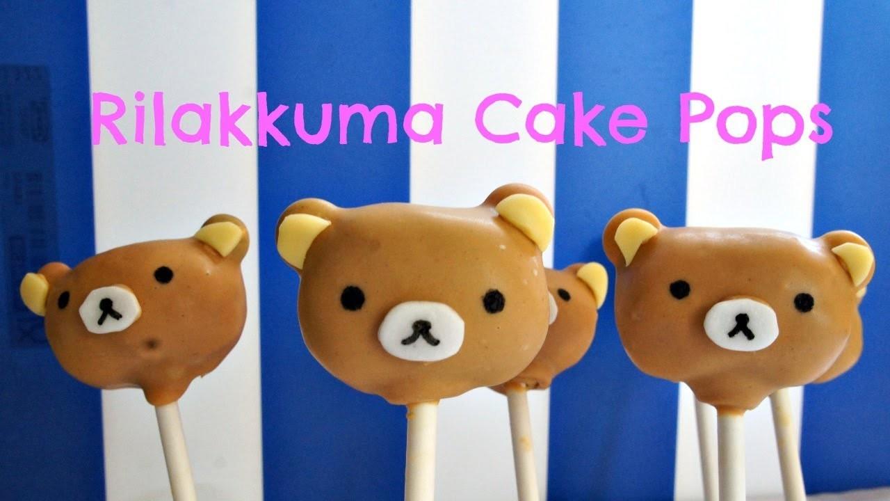How to Make Rilakkuma Cake Pops ft.yoyomax12 | baby gender reveal