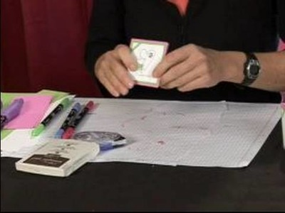How to Make Valentine's Day Crafts : Adding Sparkles for an Embossed Valentine's Day Card