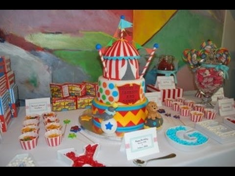 How to throw a Circus Birthday Party!