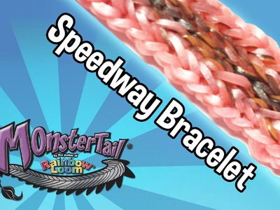 Monster Tail™ Speedway Bracelet by the Maker of Rainbow Loom