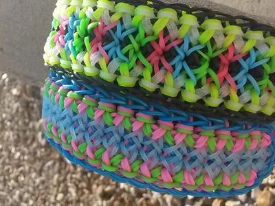 New! Carnival Twist Bracelet on Rainbow Loom