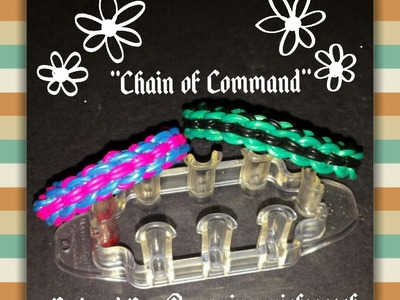 "New ""Chain of Command"" RL Monster Tail Bracelet.How To Tutorial"