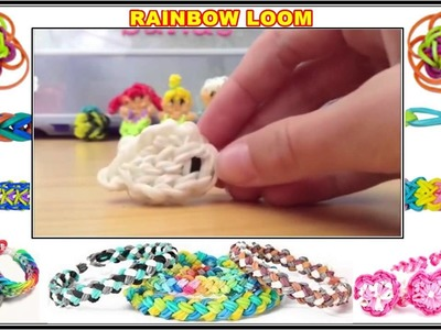 Rainbow Loom Charms   Disney Rainbow Loom Figurines and Cute Kawaii