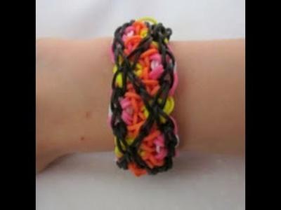 Rainbow Loom- How to make a Tango Bracelet (Original Design)