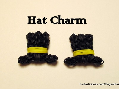 Rainbow Loom Top Hat charm emoji.emoticon - How to