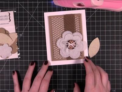 Repeated Die Cut Pattern Card