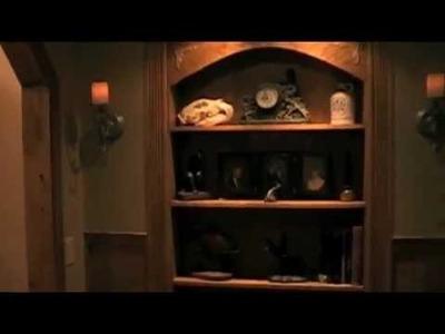 Secret  DIY Bookcase Door