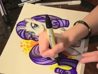 Speed painting MLP 2 of 6 - Rarity