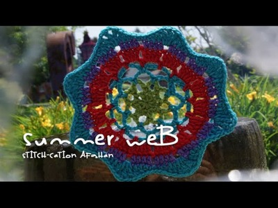 Summer Web Motif for Stitch-cation