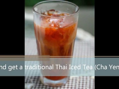 Thai Iced Tea Recipe (Cha Yen)