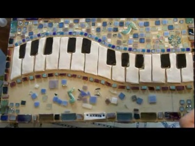 TUTORIAL-Mosaic keyboard with custom ceramic tiles step by step