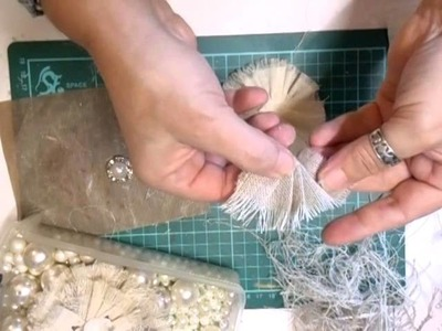 Vintage Burlap Flower Tutorial - jennings644