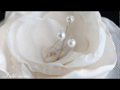 Wedding jewellery, handmade flowers hairclips and bridal accessories and jewelry