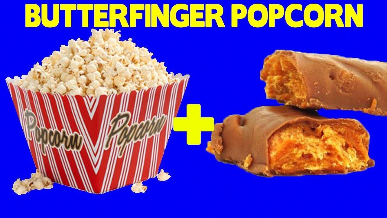 Butterfinger Popcorn!! - Food Mashups