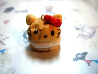 Clay Hello Kitty Cream Puff Tutorial!