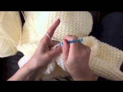 Crochet Even Moss Stitch (Animal Alphabet Afghan)