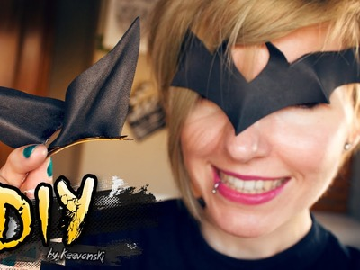 DIY Batman Props · Tiara y Orejas Ears · SUPER EASY FACILISIMO! · Goma EVA Foam Tutorial